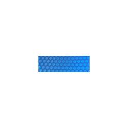 Bache a bulle sur mesure 300 microns - Bleu - Vendu au m²