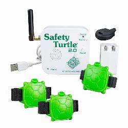 Kit Safety Turtle 3 bracelets alarme piscine enfants