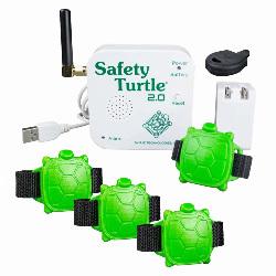 Kit Safety Turtle 4 bracelets alarme piscine enfants