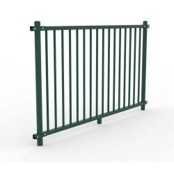 Barriere mouleau métal